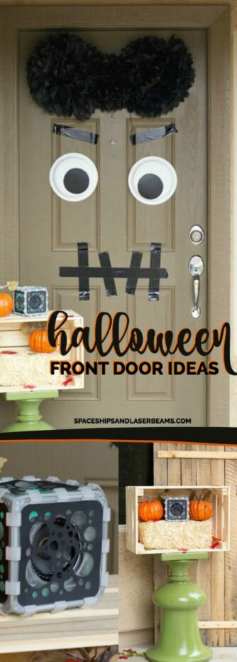 Fun Halloween Front Door Ideas
