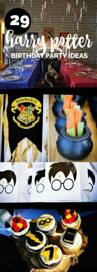 Creative Harry Potter Party Ideas