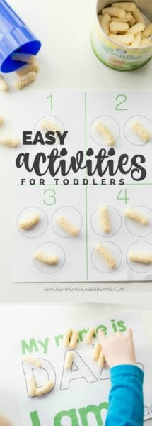 Easy Activities for Toddlers