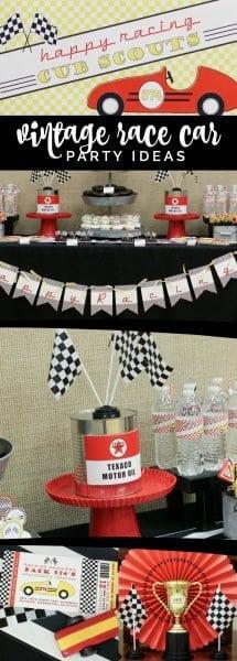 Vintage Racecar Derby Party