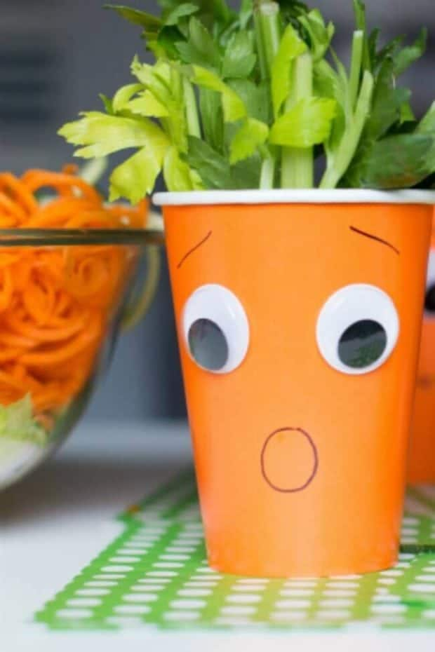 Easy Veggie Cups for Kids