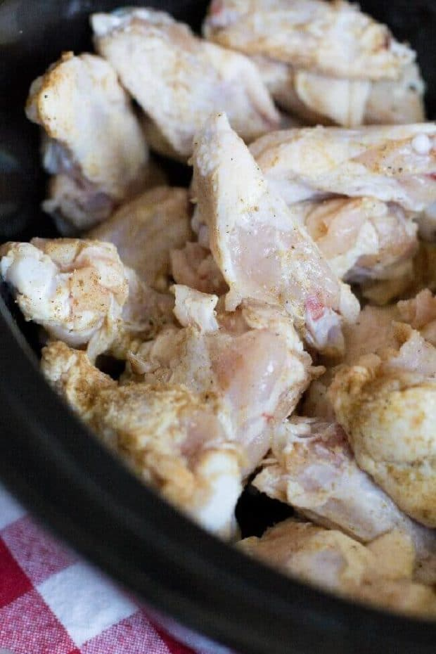 Wings in Crockpot