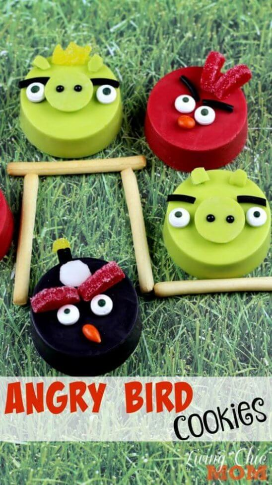 Angry Birds Space Inspired Cupcake Wrappers