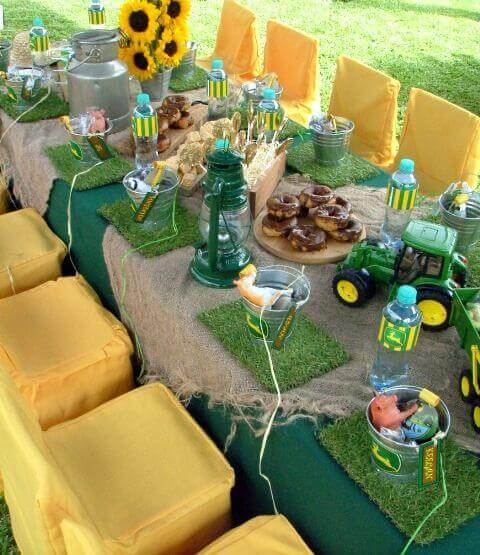 John Deere Party Table