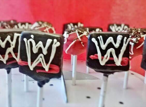 WWE Cake Pops