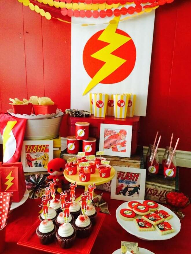 Flash Dessert Table
