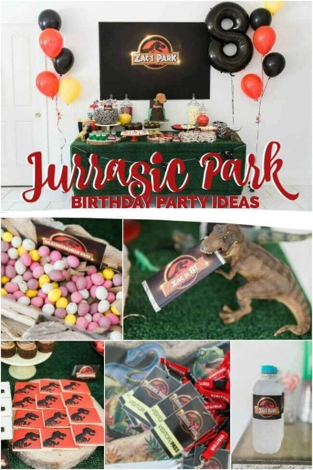 Jurassic Park Birthday party