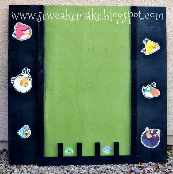 Angry Birds Plinko Board Game