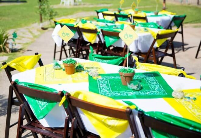 John Deere Tractor Table Ideas