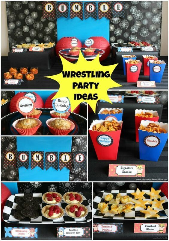 Wrestling Party Ideas