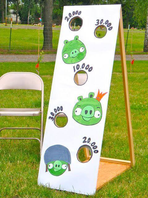 Angry Birds Bean Bag Toss Game