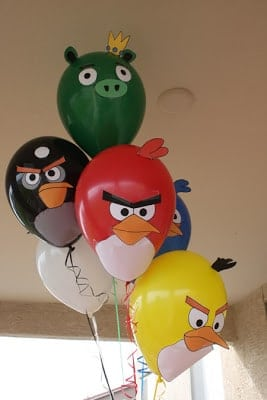 DIY Angry Birds Balloon