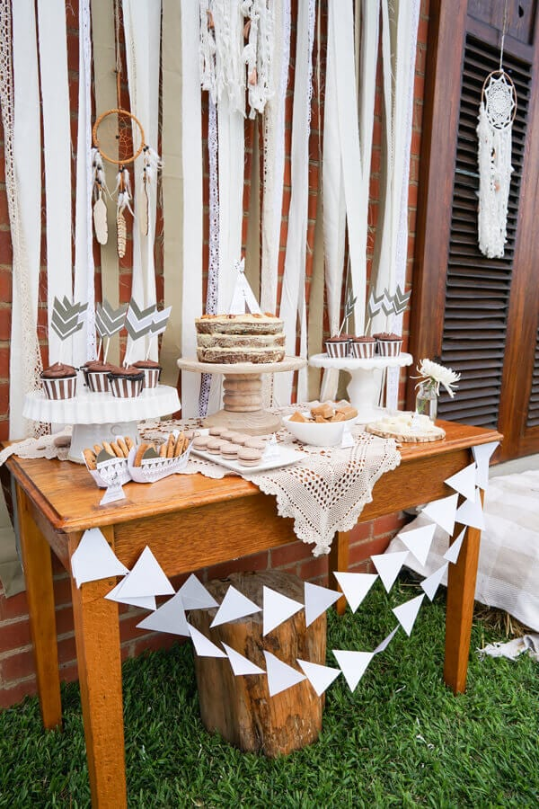 Tribal Themed Birthday Party