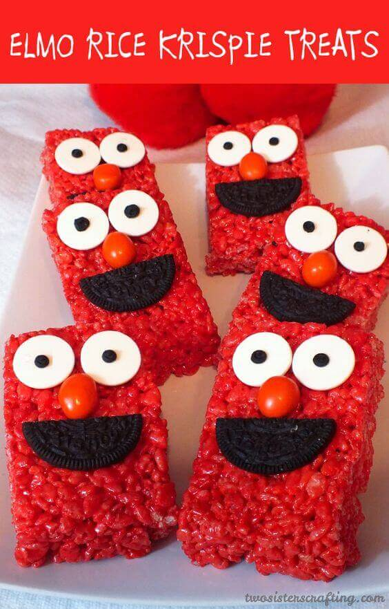21 fabulous elmo birthday party ideas spaceships and laser beams elmo macarons solutioingenieria Image collections