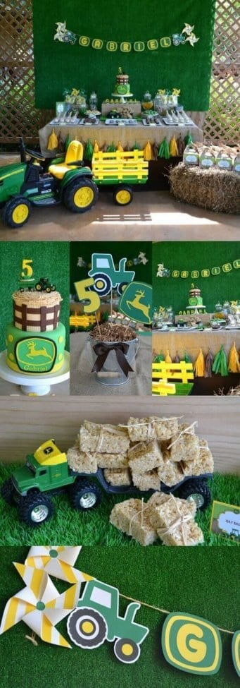 19 John Deere Tractor Party Ideas - Spaceships and Laser Beams