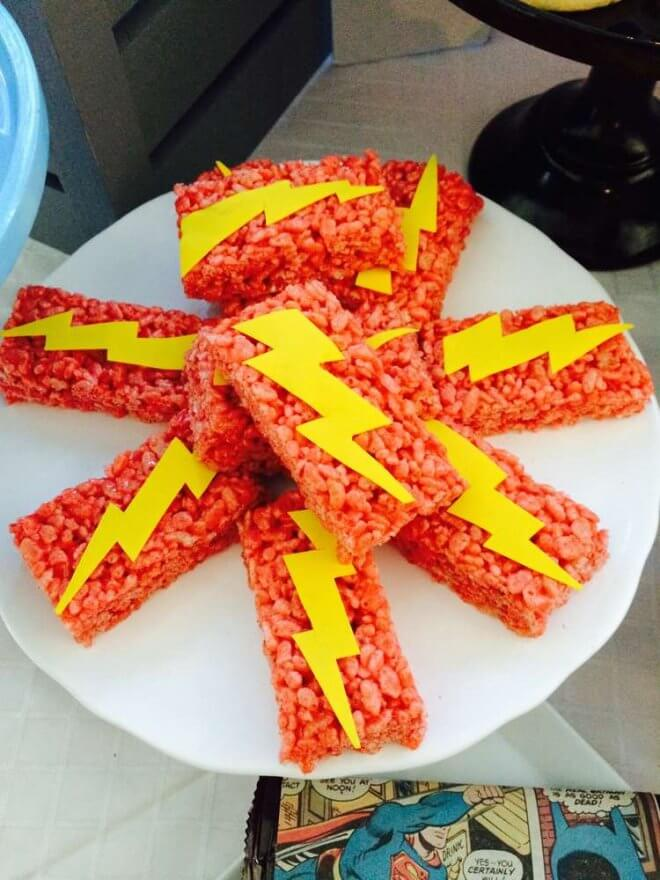 Justice League Flash Treats