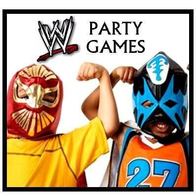 WWE Party Games