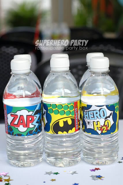 Justice League Water Bottles