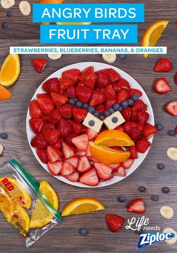 Angry Birds Fruit Tray