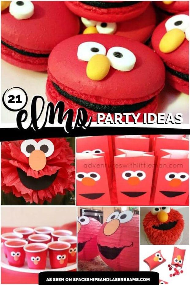 21 Fabulous Elmo Birthday Party Ideas Spaceships And