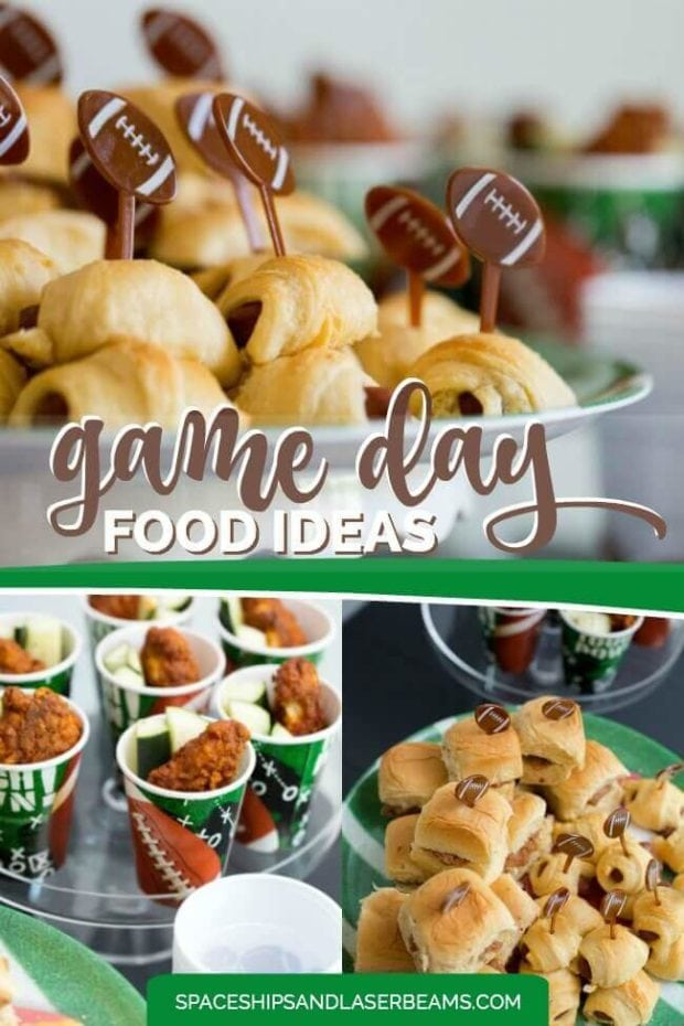 Football Party Game Day Food Ideas
