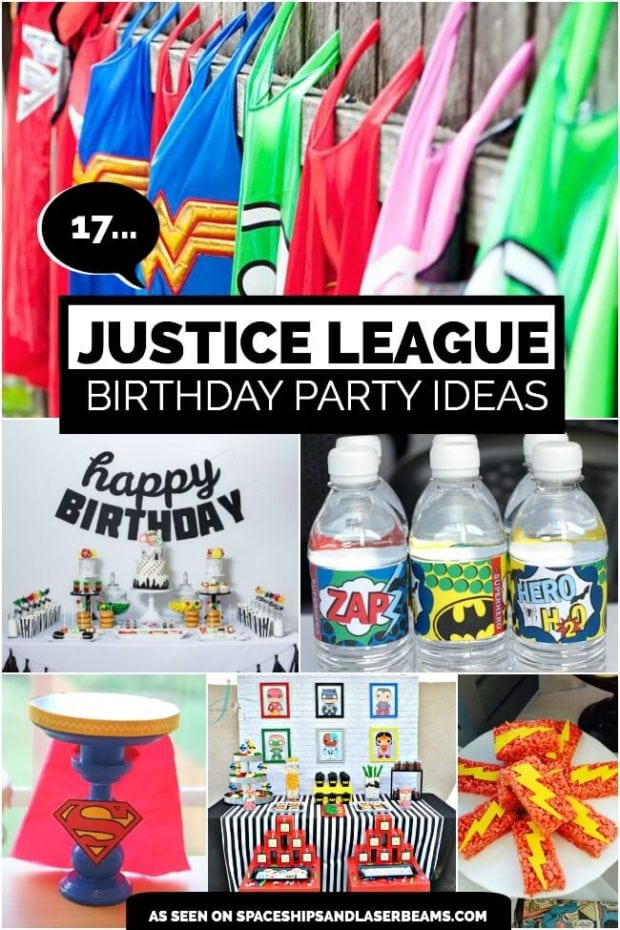 Check Out These 17 Awesome Justice League Party Ideas