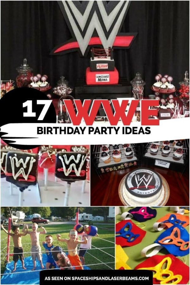 picture about Wwe Birthday Invitations Printable Free titled 17 Wild WWE Birthday Occasion Programs - Spaceships and Laser Beams
