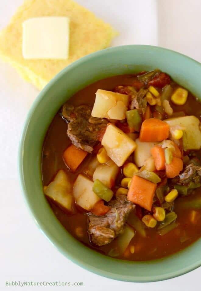 Moms Homemade Vegetable Beef Stew
