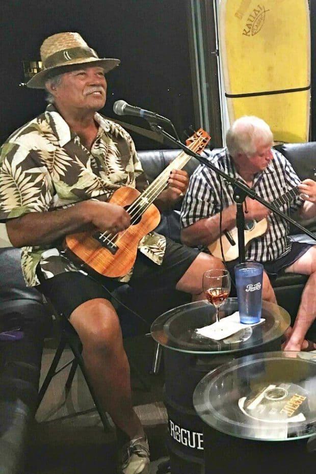 Band at Kalapaki Joe's