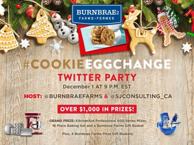 Cookie Egg Change Twitter Party