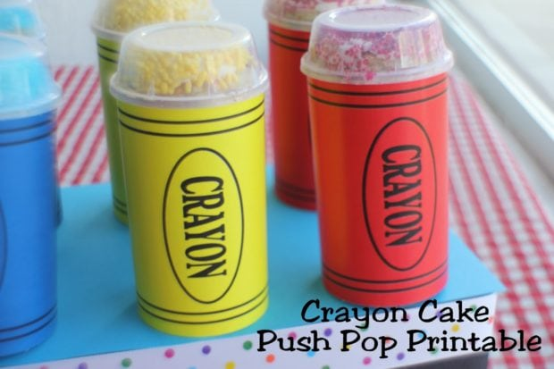 Crayon Push Pop Printable