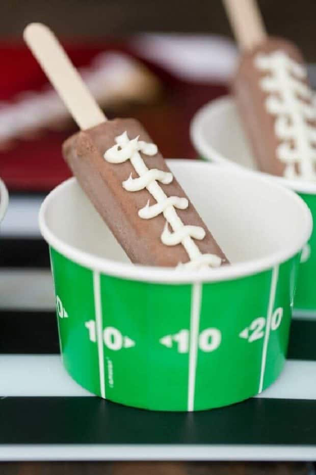 Cute Football Party Food Ideas