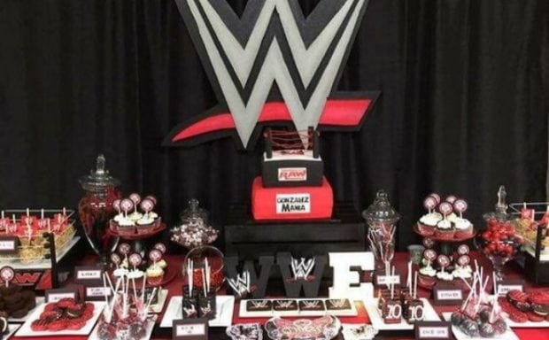 17 Wild Wwe Party Ideas Spaceships And Laser Beams