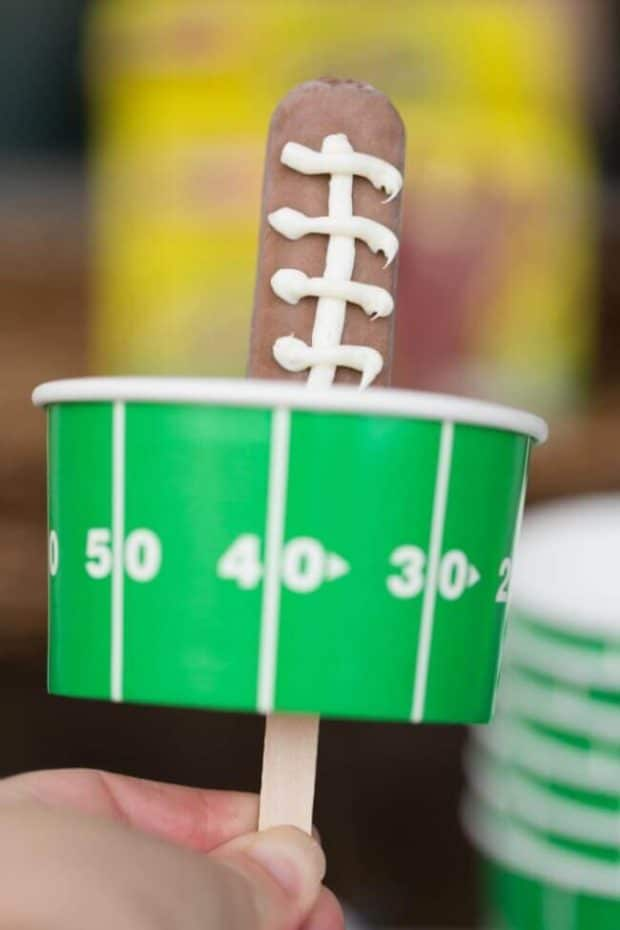 Football Ice Cream Cup