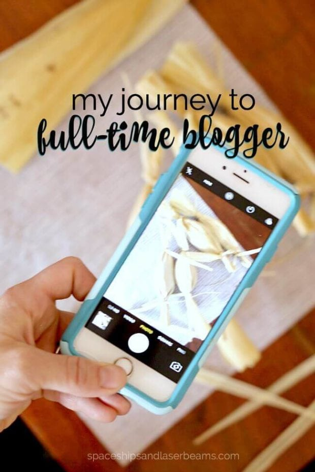 My Journey to Full Time Blogging