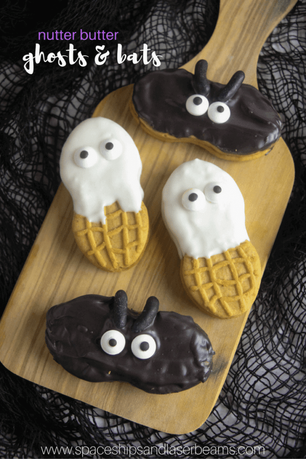 Classroom Ideas For Halloween Party ~ Nutter butter ghosts and bats spaceships laser beams