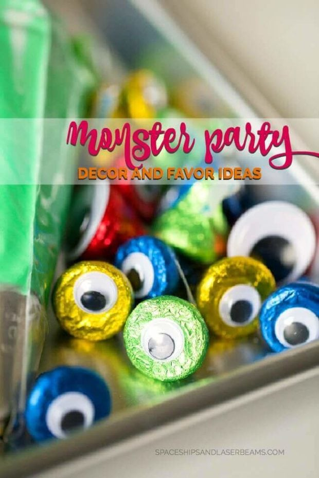 Monster Party Decor Ideas
