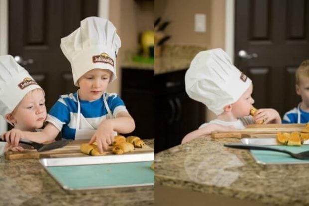 Kid's Cooking Together