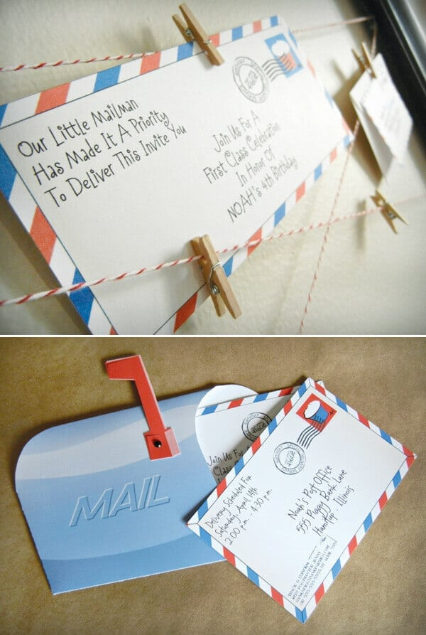 Party and Mail
