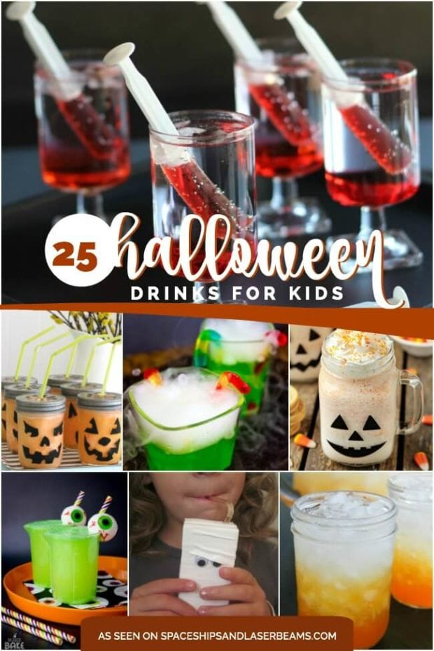 25 Halloween Drinks for Kids