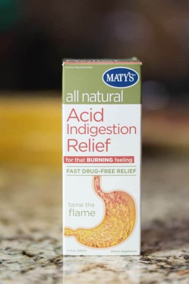 Maty's All Natural Acid Indigestion Relief