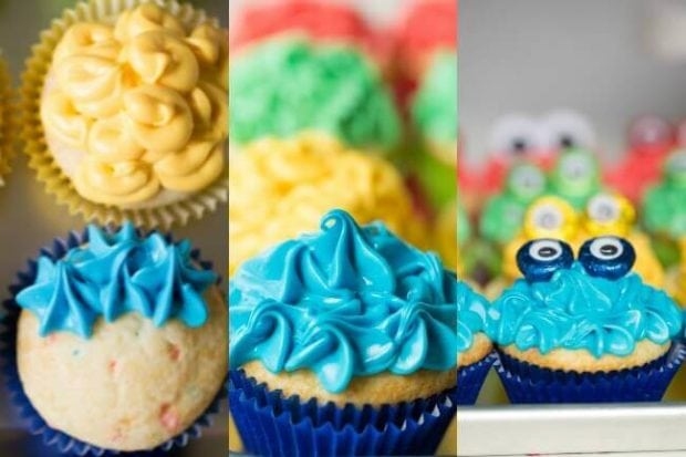 Easy DIY Monster Cupcakes