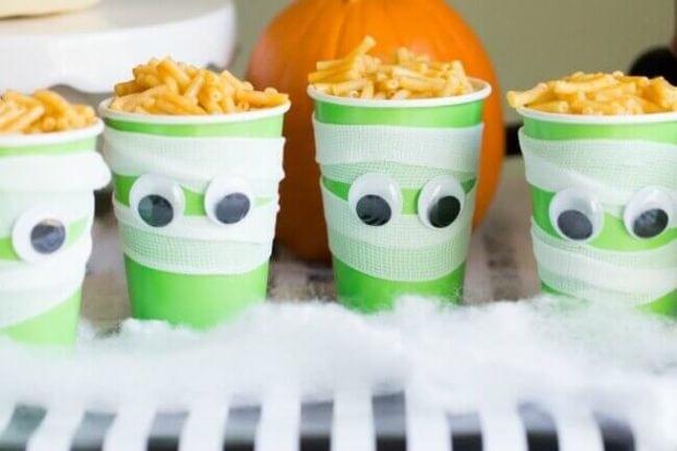 Mummy Brains Halloween Party Food Idea