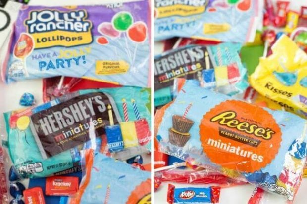 New Birthday Chocolates from Hershey