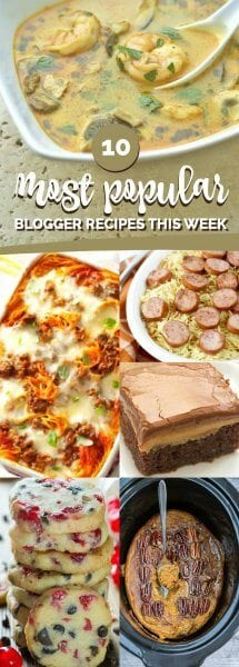 Most Popular Recipes From Facebook