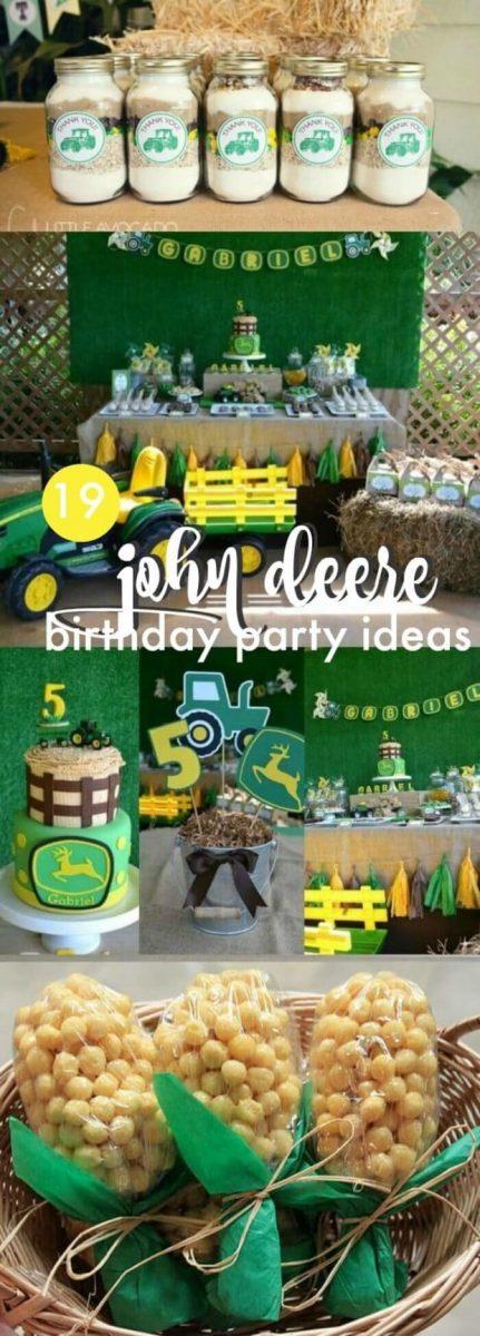 John Deere Birthday Party Ideas