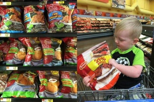 Tyson Foods at Walmart