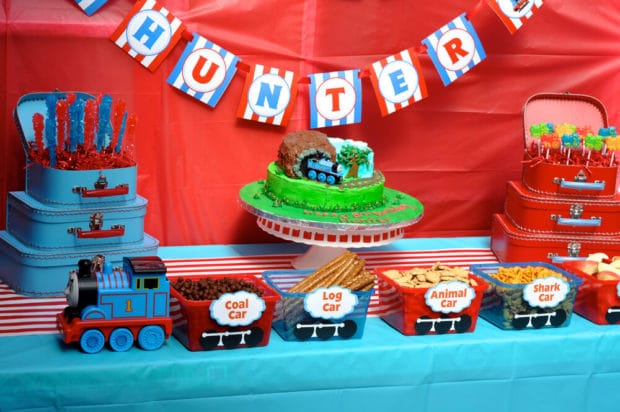 Thomas the Train Snack Display