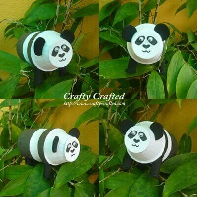Kids Panda Craft