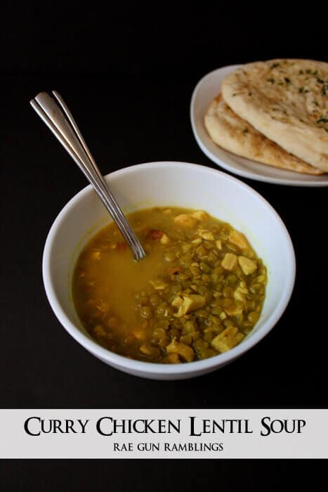 Coconut Lentil Curry Soup